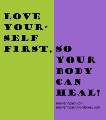 LYF so your body can heal